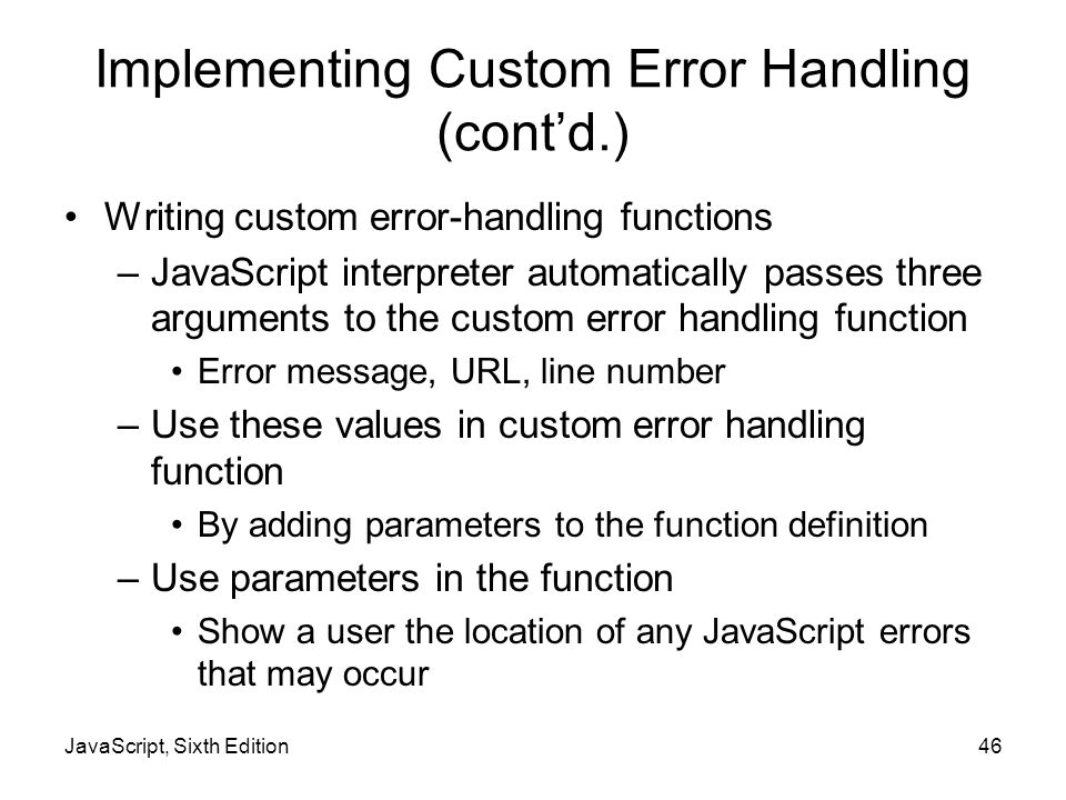 JavaScript, Sixth Edition - ppt download
