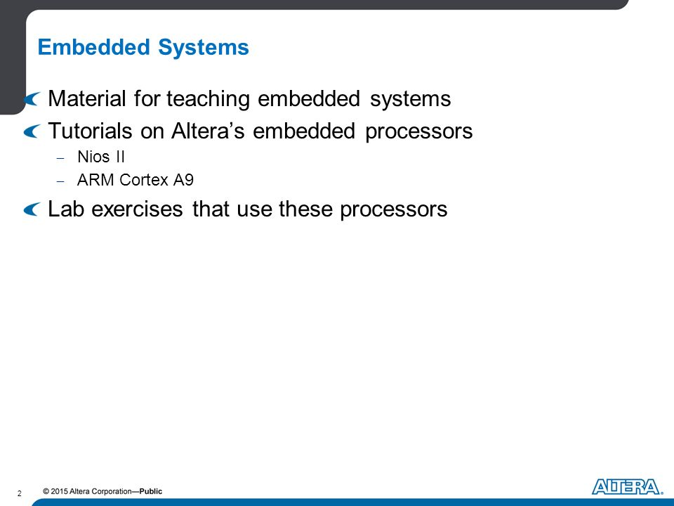Embedded Systems Design with Qsys and Altera Monitor Program
