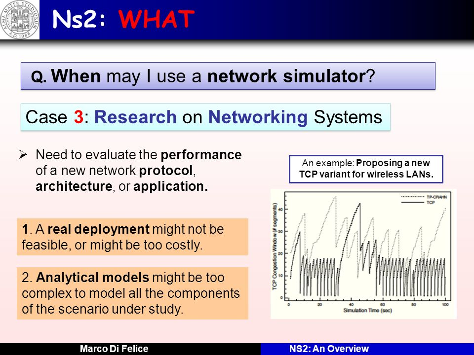 Network Modeling and Simulation with Network Simulator 2