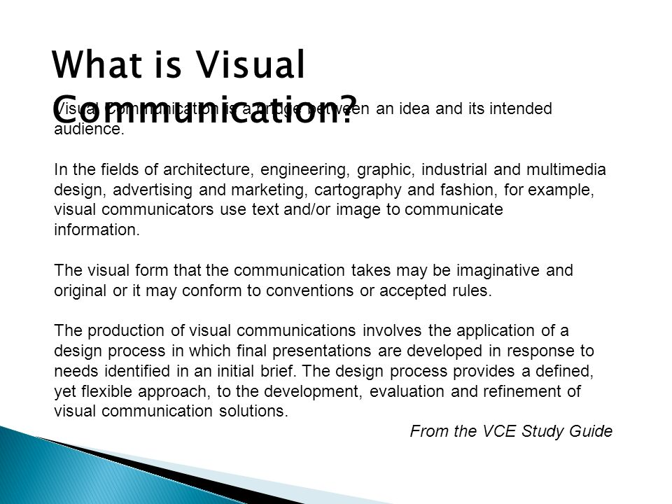 importance of visual communication