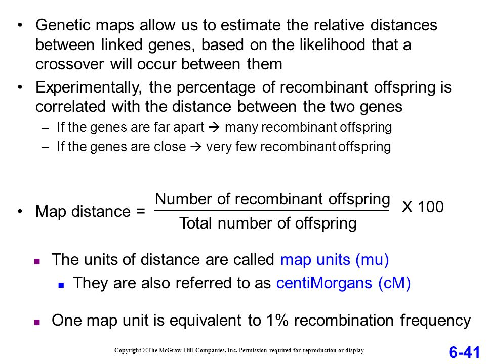 What Is One Map Unit Equivalent To Chapter 06 *Lecture Outline   ppt download What Is One Map Unit Equivalent To