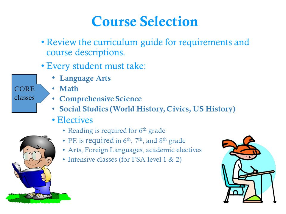 Middle School Course Selection Parent Forum Ppt Video Online Download