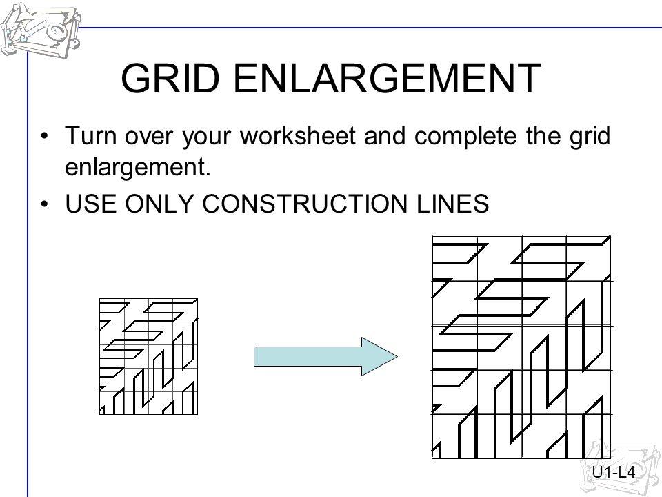 Luxury Simple Enlargement Worksheet Vignette - Mathematics for ...