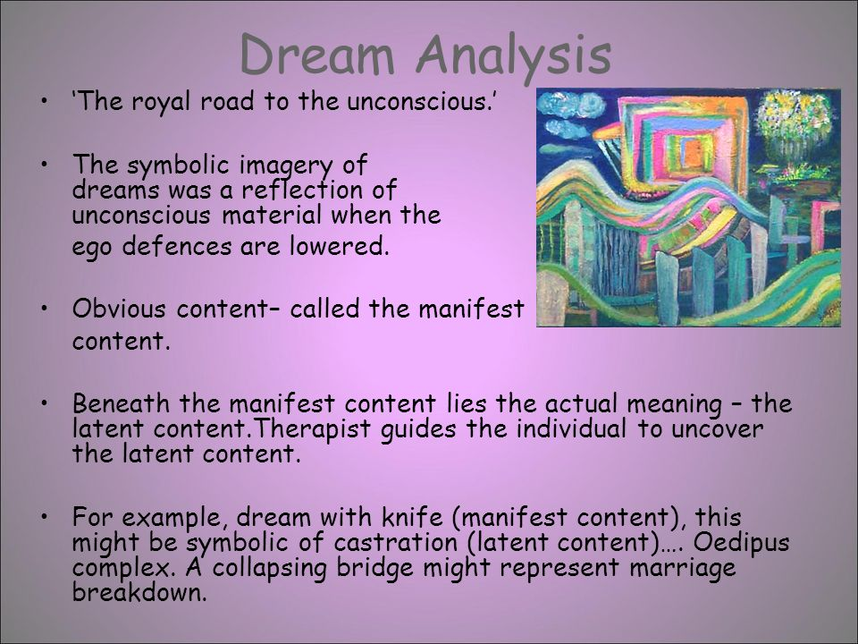 the content analysis of dreams pdf