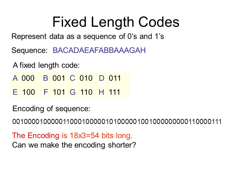 Huffman encoding  - ppt download