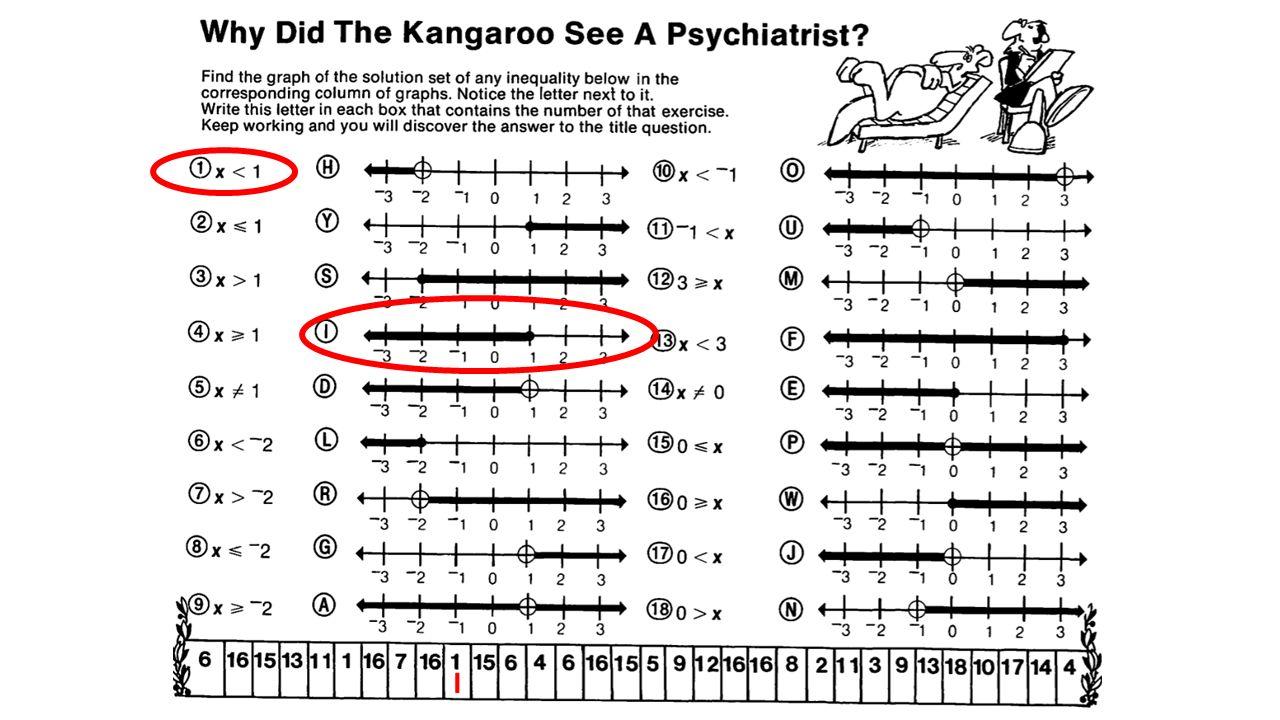 Why Did The Kangaroo See A Psychiatrist Math Worksheet - beansmith.co