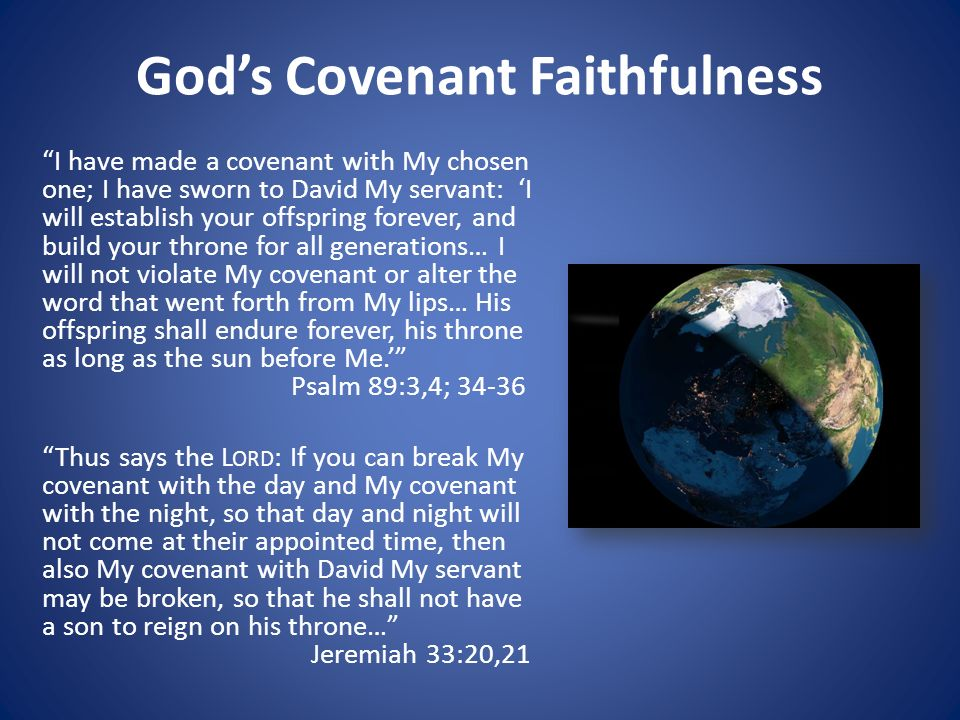 Image result for images of Jeremiah 33 covenant with day and night