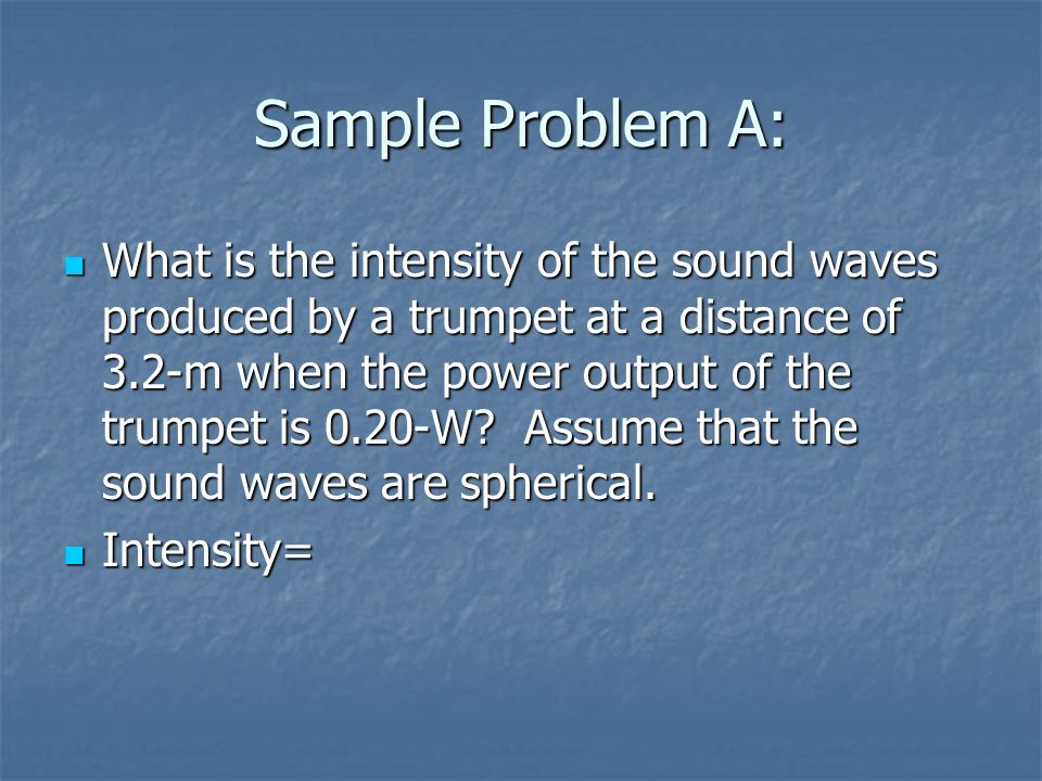 Sound Waves The production of sound from a sound wave begins with a  vibrating object