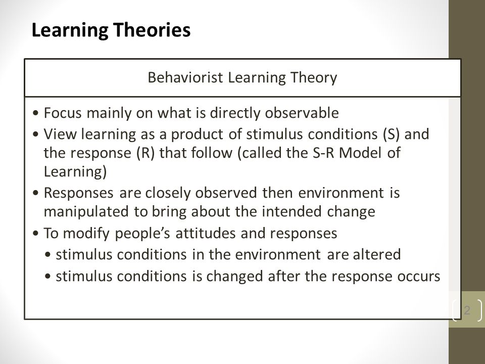 define humanistic learning theory