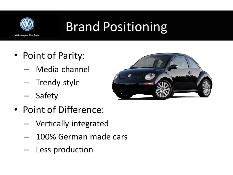 point of parity and point of Points-of-parity and points-of-difference once the competitive frame of reference for positioning has been fixed by defining the customer target market and nature of competition, marketers can define the appropriate points-of-difference and points-of-associations.