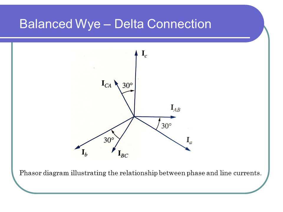 Fundamentals of electrical engineering ent 163 ppt video balanced wye delta connection ccuart Choice Image