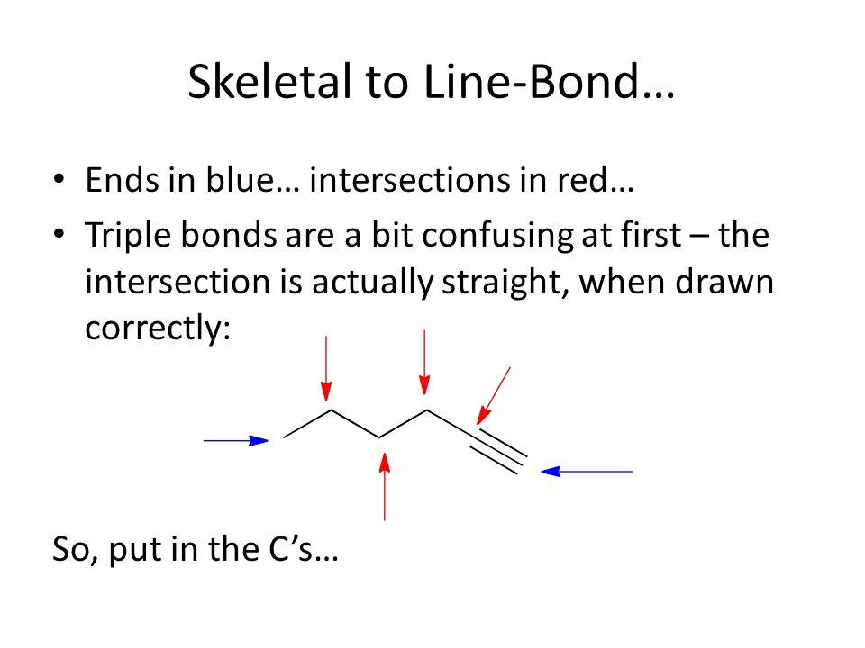 Drawing Skeletal (Zig-Zag) Structures - ppt download