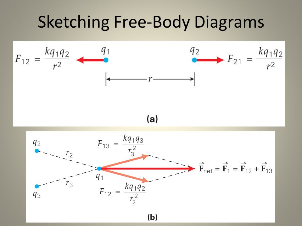 Free body diagram point diy enthusiasts wiring diagrams electric forces and electric fields ppt video online download rh slideplayer com free body diagram interactive answers free body diagram inclined plane ccuart Gallery