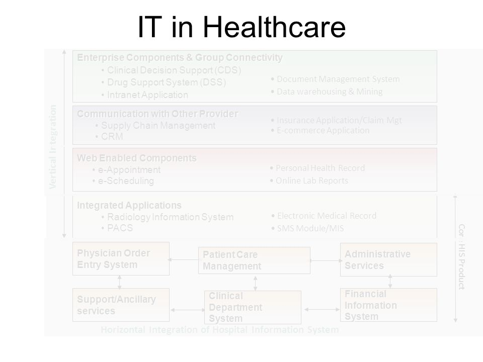 IT in Healthcare Vertical Integration