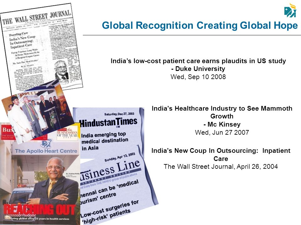 Global Recognition Creating Global Hope