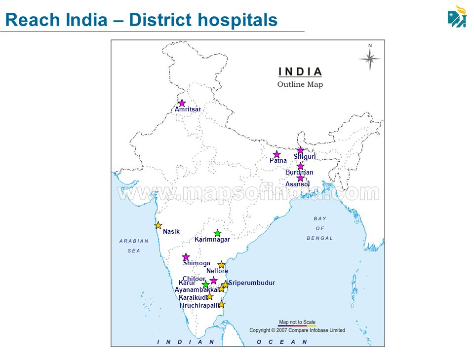 Reach India – District hospitals
