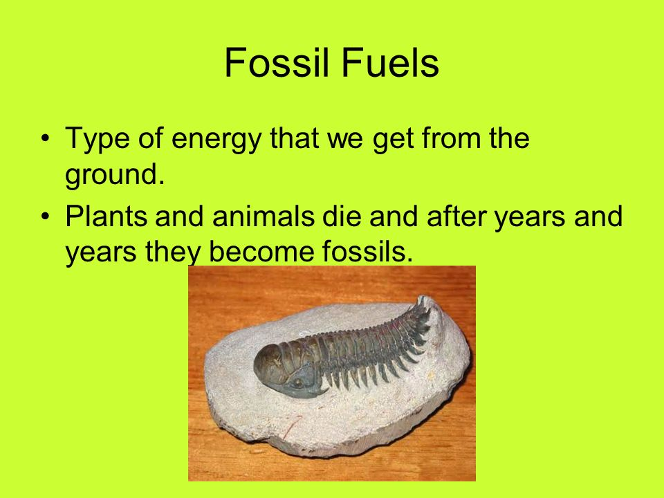 how to get energy from fossil fuels
