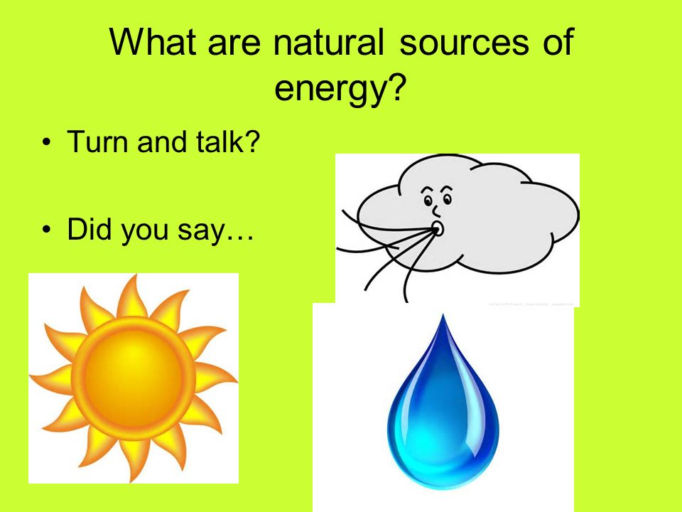 different sources of energy pdf