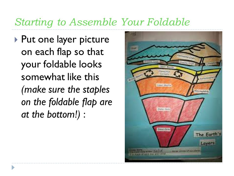 Layers Of The Earth The Foldable Ppt Video Online Download