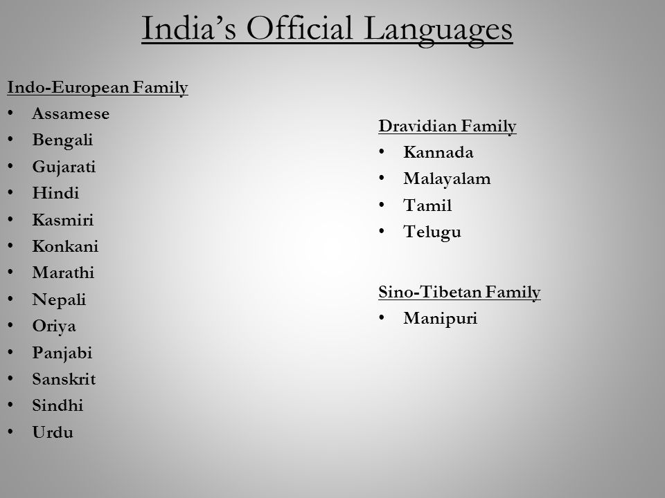 Topic: Classification of World Languages - ppt video online download