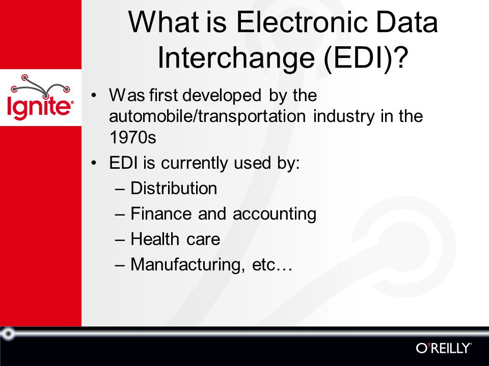 Electronic Data Interchange - ppt video online download