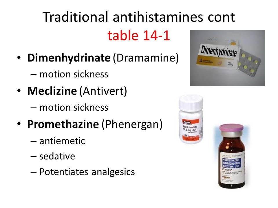 Antihistamines and Nasal Decongestants - ppt download