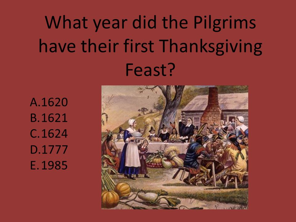 Thanksgiving quiz  - ppt video online download