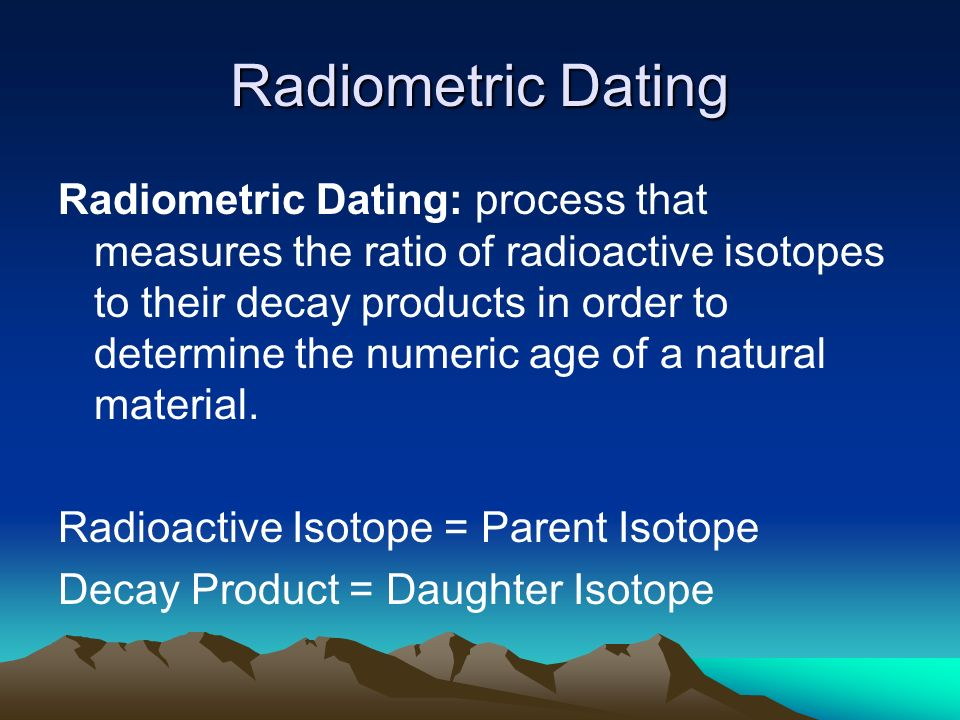 radiocarbon dating proces ppt