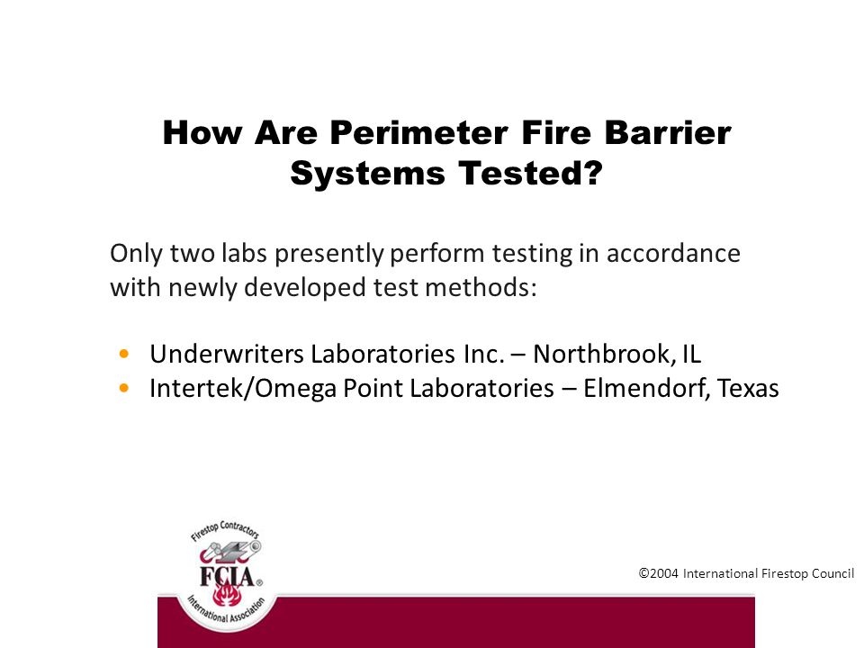 Fire Containment in Multi-Story Buildings - ppt download