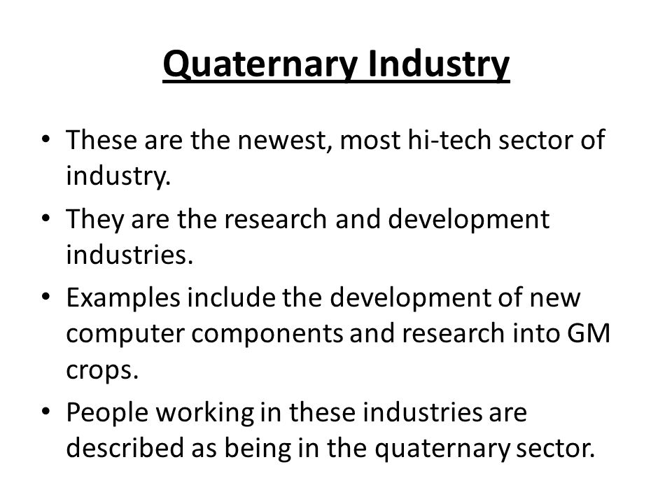 classifying industry ppt download