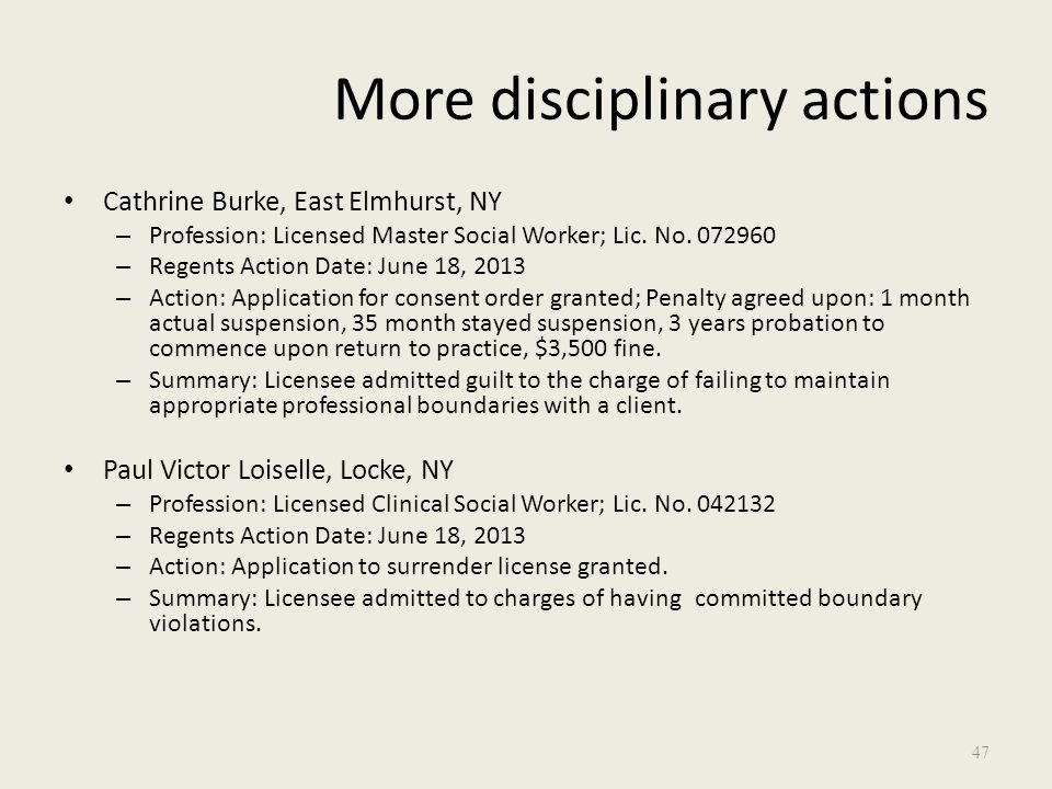 disciplinary actions that the board of The west virginia real estate appraiser licensing and certification board is charged with the responsibility of administering the provisions of wva code chapter 30, article 38 and 38a and legislative rules title 190, series 2, 3, 4 and 5.