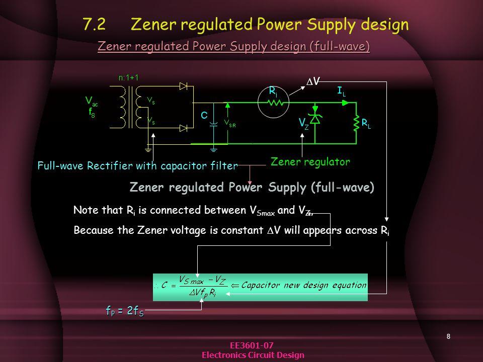 7  Design of BJT, Op  Amp , IC Regulated Power Supplies - ppt video