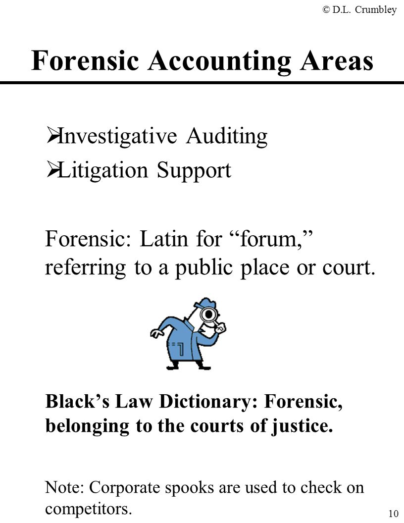 The fraud side of forensic accounting d larry crumbley cpa cr forensic accounting areas solutioingenieria Images