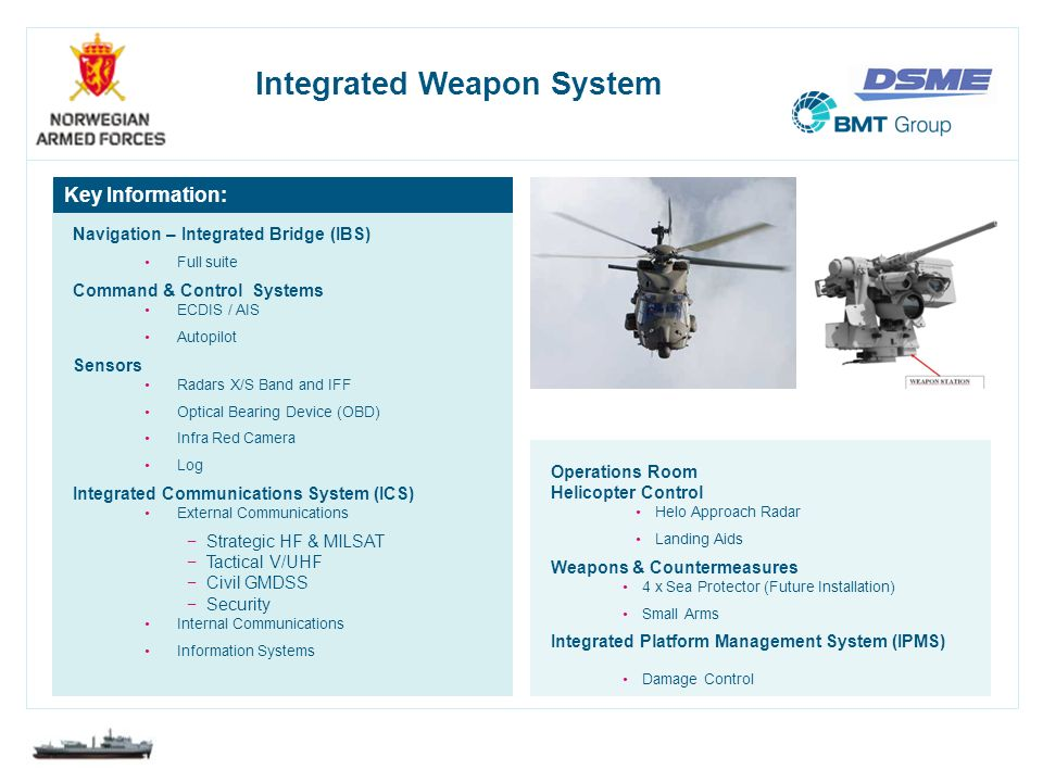 Integrated Weapon System