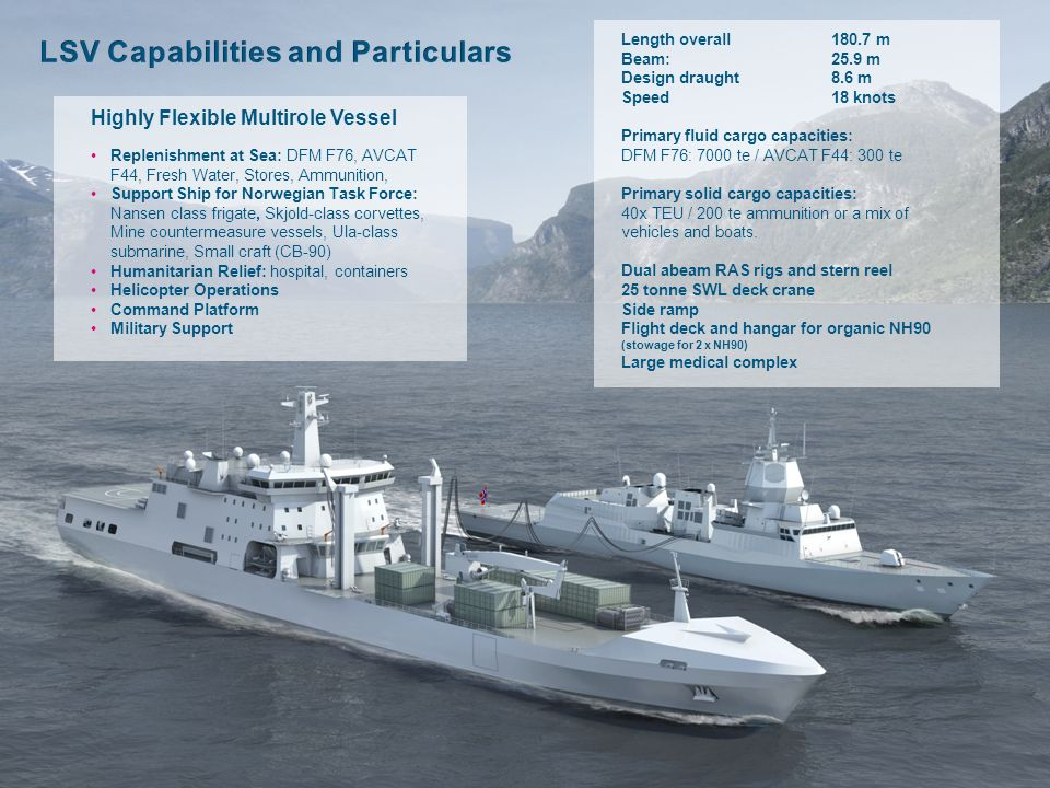LSV Capabilities and Particulars