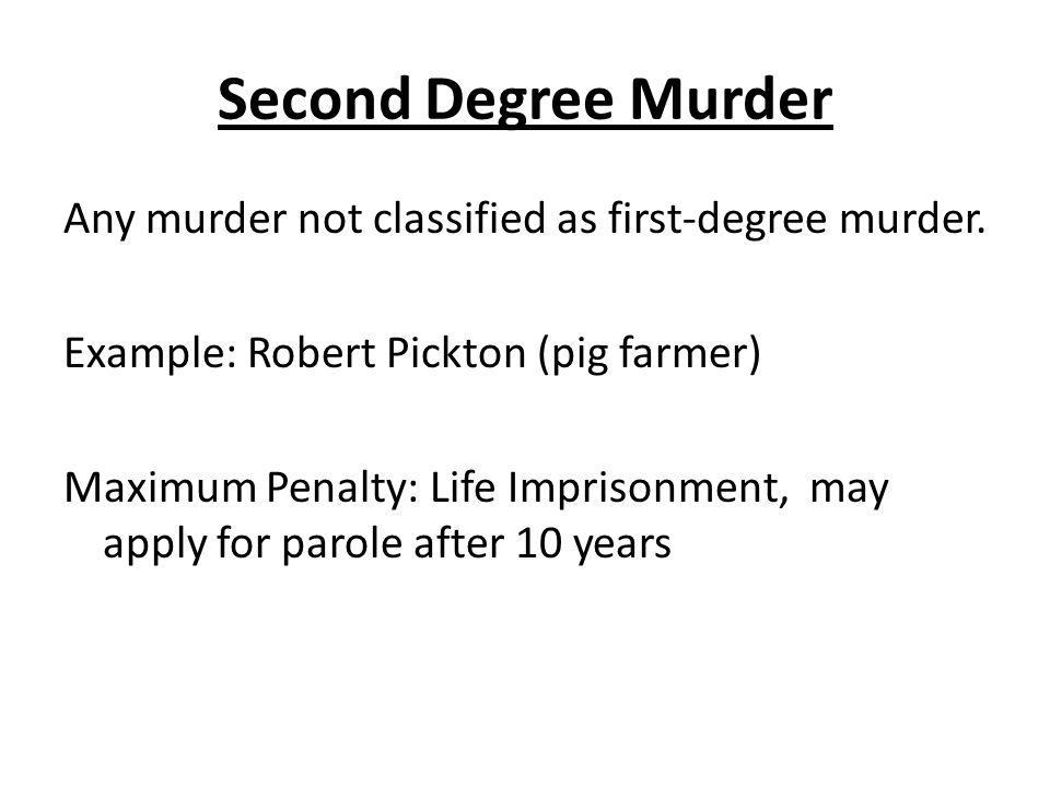 First-degree murder.
