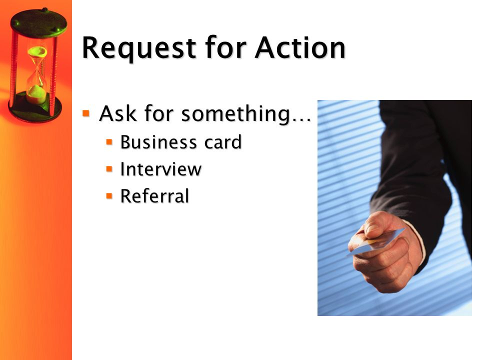 Presented by cpcc career services sarah wilson career counselor request for action ask for something business card interview referral colourmoves