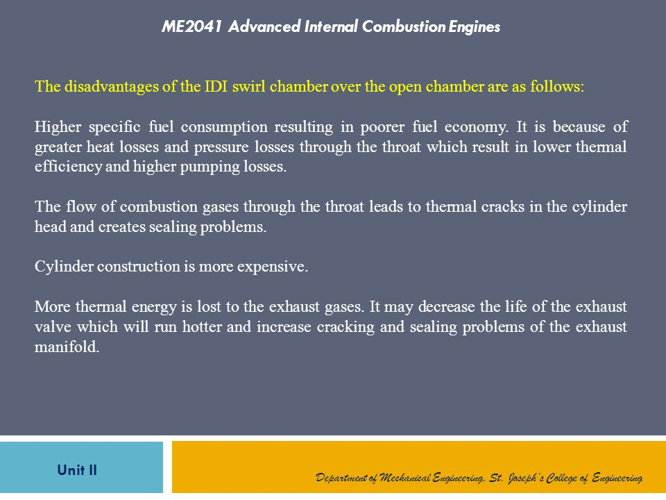 Combustion in CI Engines - ppt download
