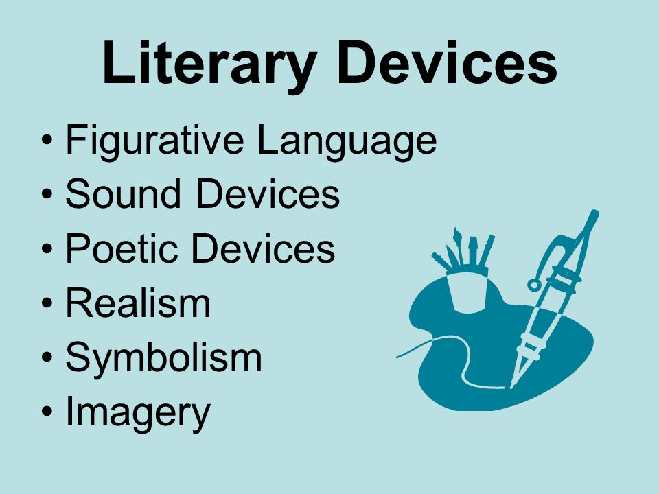 Literary Devices Objective 6 Ppt Video Online Download