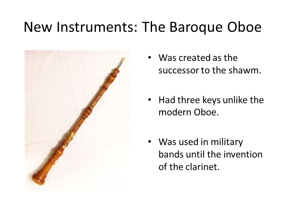 Music During the Baroque Period - ppt video online download