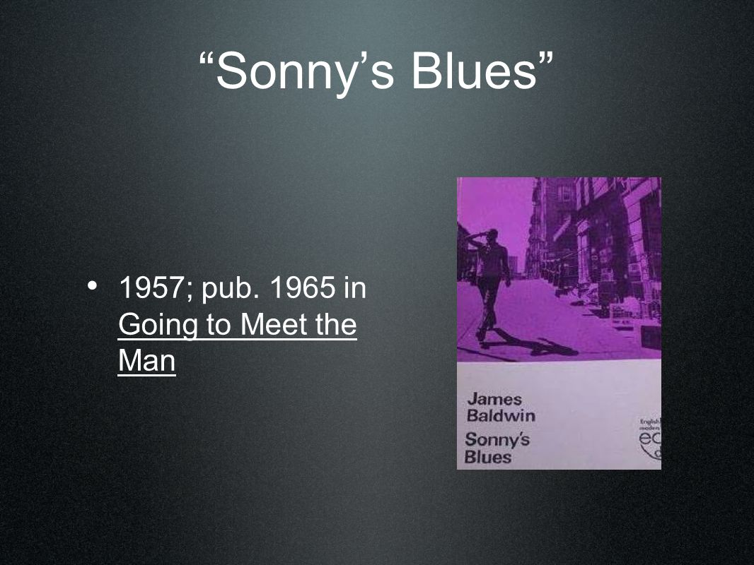 what is sonnys blues about