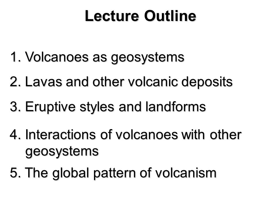 understanding earth chapter 12 volcanoes grotzinger u2022 jordan ppt rh slideplayer com Writing Outline Textbook Chapter Outline Template