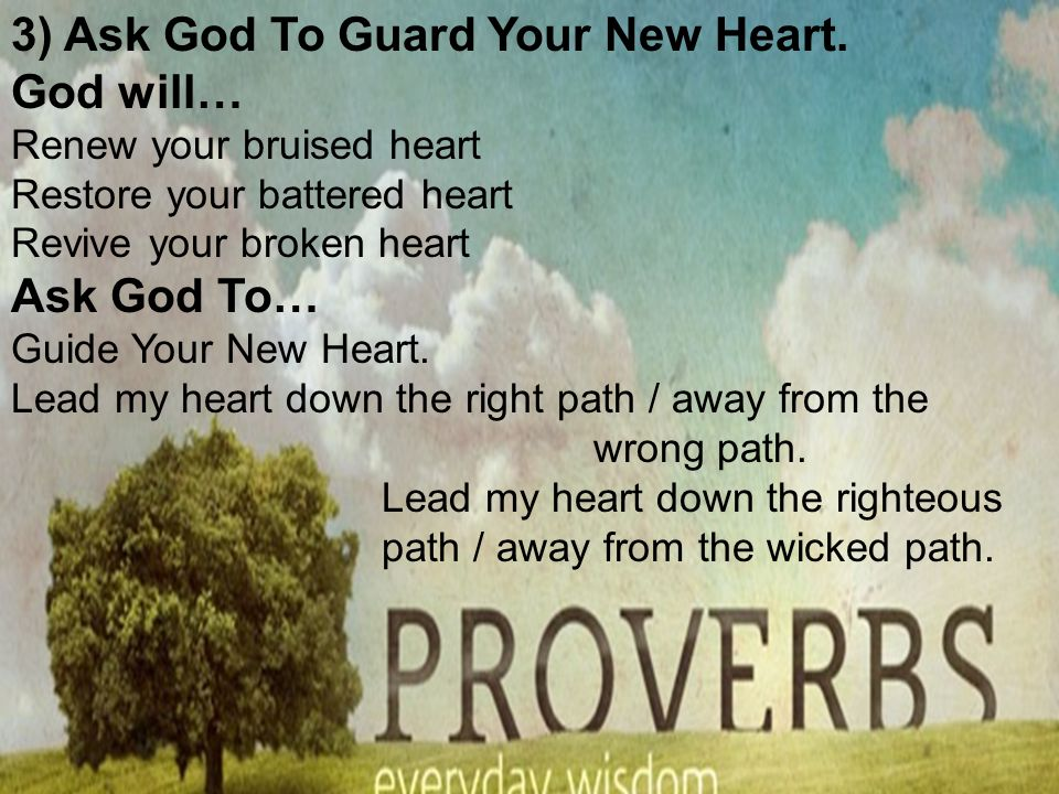 Sermons From The Book Of Proverbs Help For The Hurting Heart - ppt