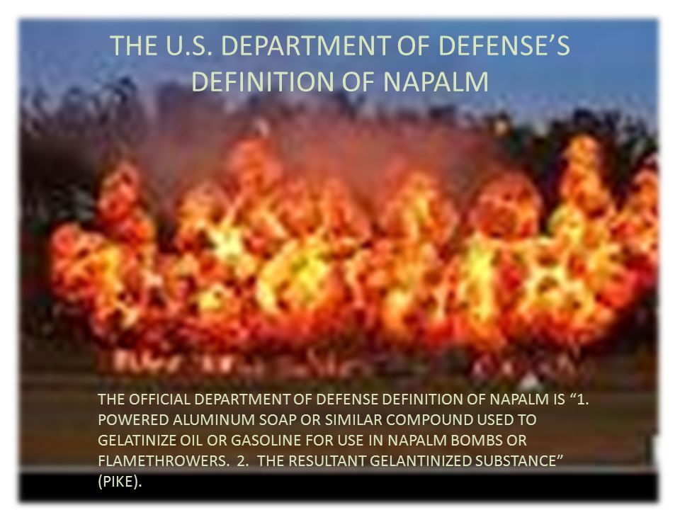 VIETNAM: THE PERFECT NAPALM TARGET - ppt video online download