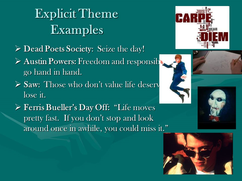 Theme: The author's message - ppt video online download