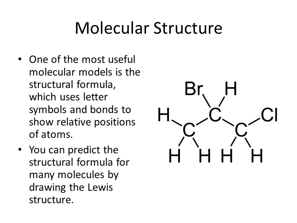 Lewis Structures for Molecular Compounds - ppt video online