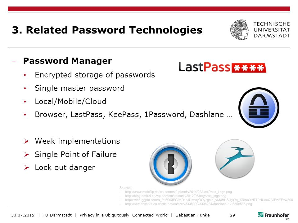 Password is Dead – A Survey of Attacks - ppt download