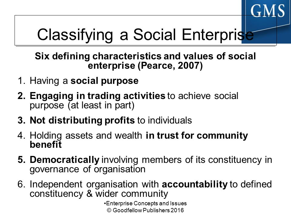 Social Entrepreneurship (SE) - ppt download