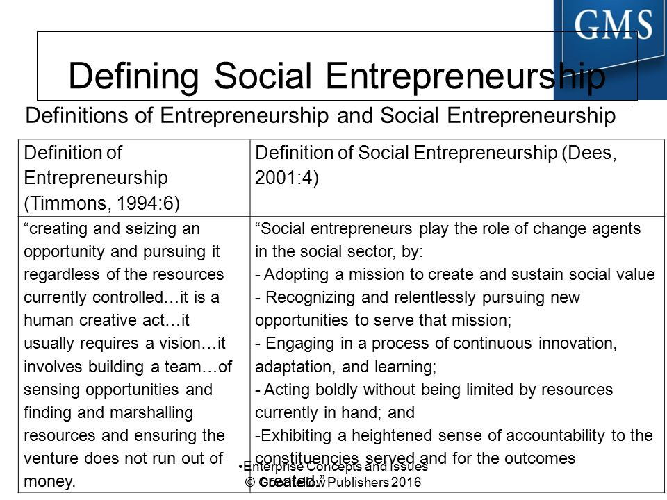 Social Entrepreneurship Se Ppt Download