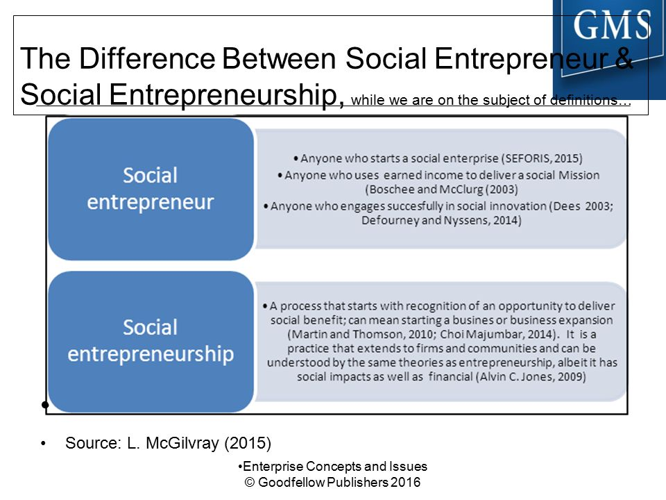 Difference between business enterprise and social enterprise